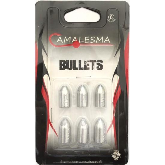 Chumbos Bullet  6unid - Camalesma